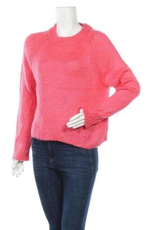 Дамски пуловер A.N.A., Размер L, Цвят Розов, Акрил, Цена 9,66лв.