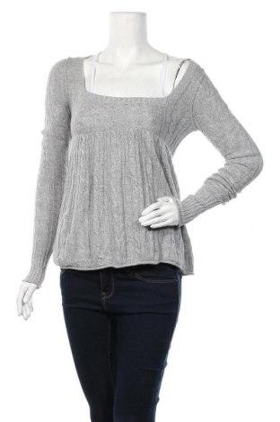 Дамски пуловер Abercrombie & Fitch, Размер M, Цвят Сив, 47% вискоза, 40% полиамид, 13% други тъкани, Цена 13,55лв.
