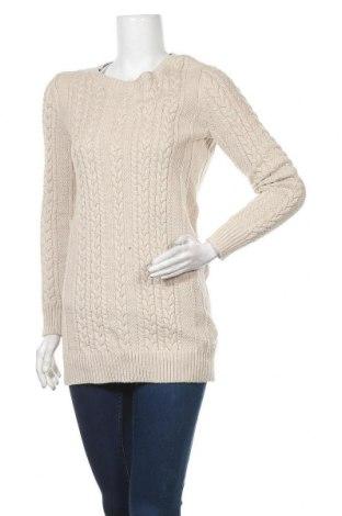 Γυναικείο πουλόβερ Abercrombie & Fitch, Μέγεθος S, Χρώμα  Μπέζ, 60% βαμβάκι, 40% πολυαμίδη, Τιμή 31,56€