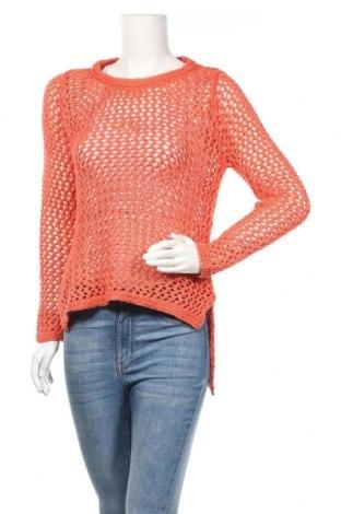 Дамски пуловер Ahlens, Размер XS, Цвят Оранжев, Акрил, Цена 5,29лв.