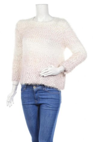 Дамски пуловер Alfred Dunner, Размер M, Цвят Бял, 67% полиестер, 32% полиамид, 1% други материали, Цена 9,77лв.