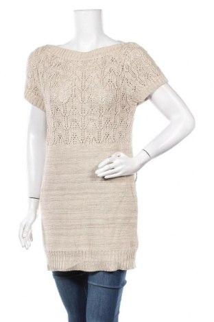 Дамски пуловер Alison Sheri, Размер M, Цвят Бежов, 55% акрил, 45% памук, Цена 7,61лв.
