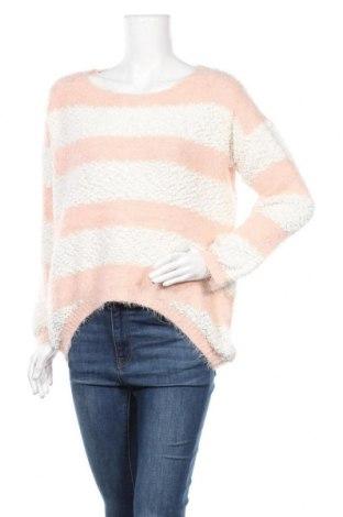 Дамски пуловер Ally, Размер L, Цвят Розов, 50% полиамид, 50% акрил, Цена 11,85лв.