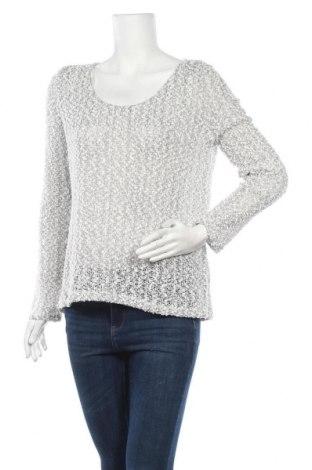 Дамски пуловер Ally, Размер XL, Цвят Бял, 55% акрил, 40% полиестер, 5% метални нишки, Цена 9,98лв.