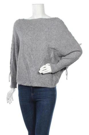 Дамски пуловер Amisu, Размер M, Цвят Сив, Цена 12,29лв.