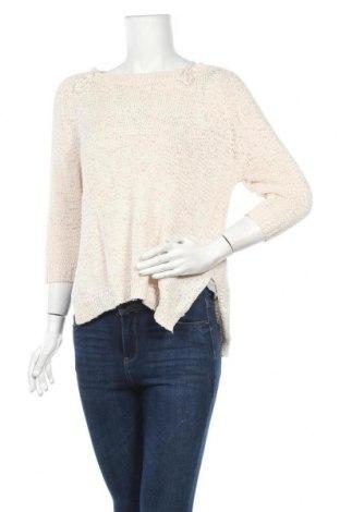 Дамски пуловер Amisu, Размер M, Цвят Бежов, 65% памук, 35% полиестер, Цена 7,35лв.