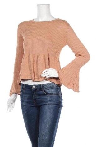 Дамски пуловер Atmos & Here, Размер M, Цвят Кафяв, 90% вискоза, 10% полиамид, Цена 6,83лв.