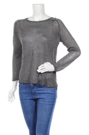 Дамски пуловер Atmosphere, Размер M, Цвят Сребрист, 86% вискоза, 14% полиестер, Цена 7,09лв.