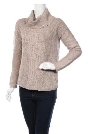 Дамски пуловер Banana Republic, Размер M, Цвят Бежов, 60% памук, 40% вискоза, Цена 33,44лв.