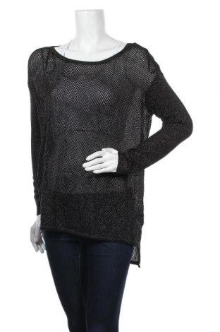 Дамски пуловер Bardot, Размер L, Цвят Черен, 80% вискоза, 20% метални нишки, Цена 5,55лв.