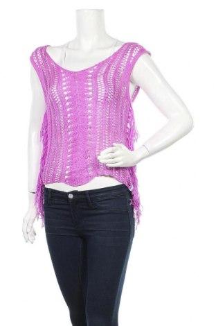 Дамски пуловер Billabong, Размер L, Цвят Лилав, Акрил, Цена 6,52лв.