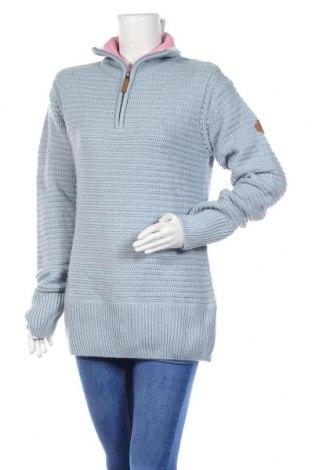 Дамски пуловер Blue Motion, Размер L, Цвят Син, 85% полиакрил, 15% вълна, Цена 18,90лв.