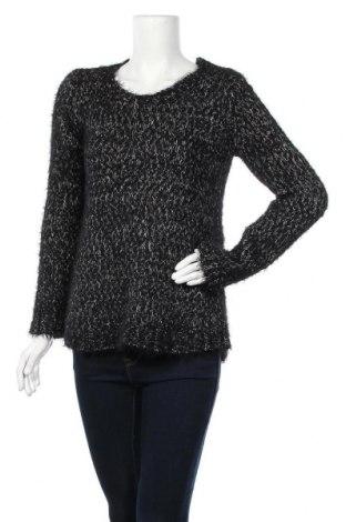 Дамски пуловер C&A, Размер M, Цвят Черен, 60% полиестер, 28% полиамид, 12% акрил, Цена 11,76лв.