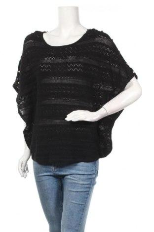 Γυναικείο πουλόβερ Camaieu, Μέγεθος S, Χρώμα Μαύρο, Τιμή 20,88€