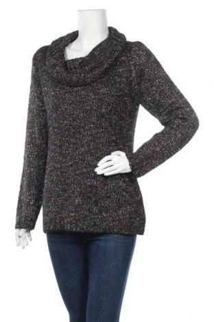 Дамски пуловер Canda, Размер M, Цвят Многоцветен, 97% акрил, 2% полиестер, 1% метални нишки, Цена 12,13лв.