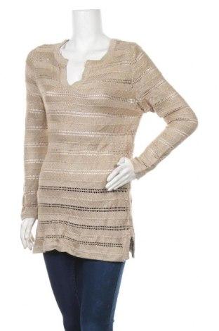 Дамски пуловер Capture, Размер M, Цвят Бежов, Цена 6,12лв.
