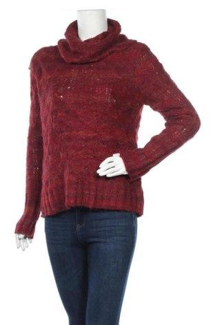 Дамски пуловер Carole Little, Размер L, Цвят Червен, 85% акрил, 15% полиестер, Цена 8,82лв.