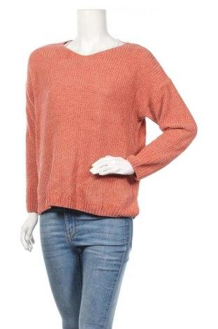 Γυναικείο πουλόβερ Cartoon, Μέγεθος M, Χρώμα Πορτοκαλί, Τιμή 16,66€