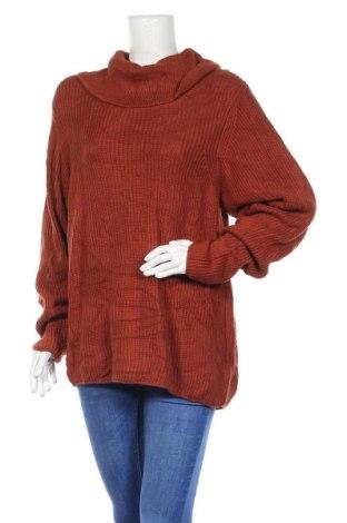 Γυναικείο πουλόβερ Chadwicks, Μέγεθος S, Χρώμα Καφέ, 55% βαμβάκι, 37% βισκόζη, 8% πολυαμίδη, Τιμή 21,43€