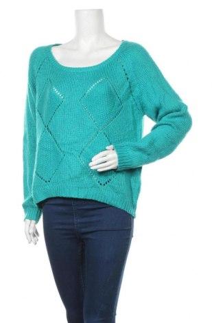 Γυναικείο πουλόβερ Charlotte Russe, Μέγεθος XL, Χρώμα Πράσινο, 100%ακρυλικό, Τιμή 15,20€
