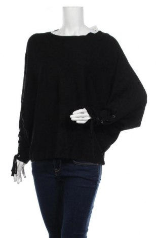 Дамски пуловер Chicoree, Размер L, Цвят Черен, 80% вискоза, 20% полиамид, Цена 25,20лв.