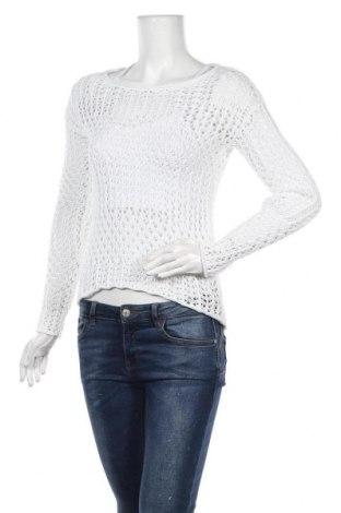 Дамски пуловер Chicoree, Размер XS, Цвят Бял, 60% памук, 40% акрил, Цена 6,04лв.