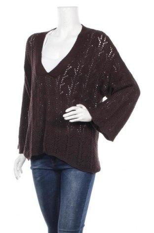 Γυναικείο πουλόβερ Chico's, Μέγεθος M, Χρώμα Καφέ, Βαμβάκι, Τιμή 32,08€
