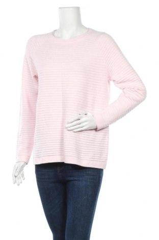 Дамски пуловер Christopher & Banks, Размер L, Цвят Розов, 60% памук, 40% акрил, Цена 17,75лв.