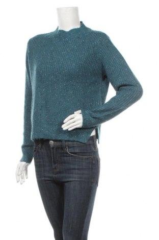 Дамски пуловер Clockhouse, Размер M, Цвят Син, 64% акрил, 36% полиестер, Цена 11,34лв.