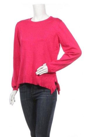 Дамски пуловер Clothing & Co, Размер L, Цвят Розов, 80% вискоза, 20% полиестер, Цена 14,18лв.