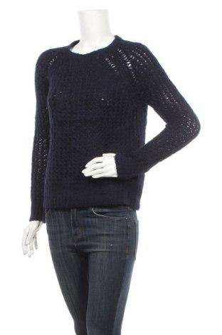 Γυναικείο πουλόβερ Club Monaco, Μέγεθος XS, Χρώμα Μπλέ, 68% μαλλί από αλπακά, 22% πολυαμίδη, 10% μαλλί, Τιμή 38,26€