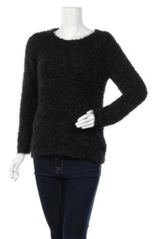 Дамски пуловер Colours Of The World, Размер S, Цвят Черен, Полиестер, Цена 11,76лв.