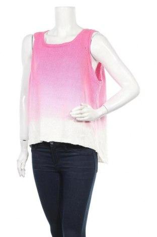 Дамски пуловер Crossroads, Размер XXL, Цвят Розов, Памук, Цена 11,55лв.
