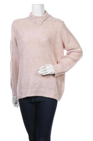 Дамски пуловер Damart, Размер XL, Цвят Розов, Акрил, Цена 23,10лв.