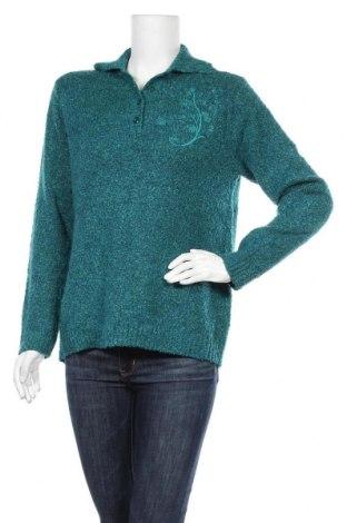 Γυναικείο πουλόβερ Damart, Μέγεθος S, Χρώμα Πράσινο, 85%ακρυλικό, 15% πολυεστέρας, Τιμή 13,25€