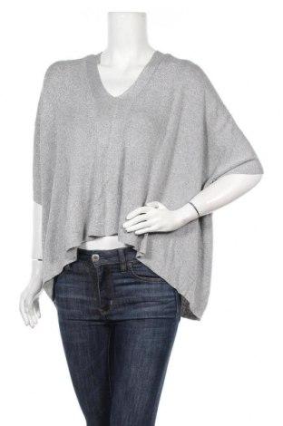 Дамски пуловер Decjuba, Размер M, Цвят Сив, 76% вискоза, метални нишки, Цена 26,93лв.