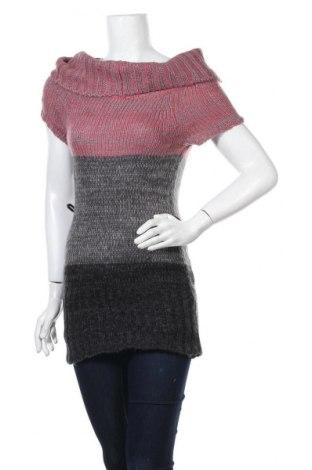 Γυναικείο πουλόβερ Derek Heart, Μέγεθος M, Χρώμα Γκρί, Ακρυλικό, Τιμή 17,90€