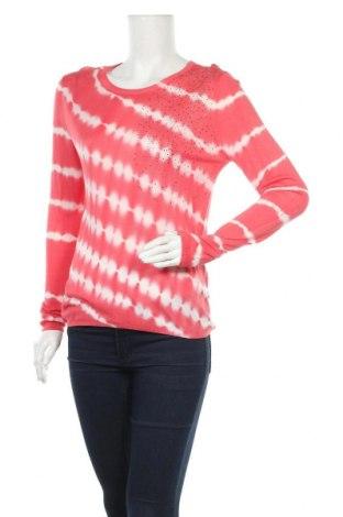 Дамски пуловер Desigual, Размер L, Цвят Червен, Вискоза, Цена 42,57лв.