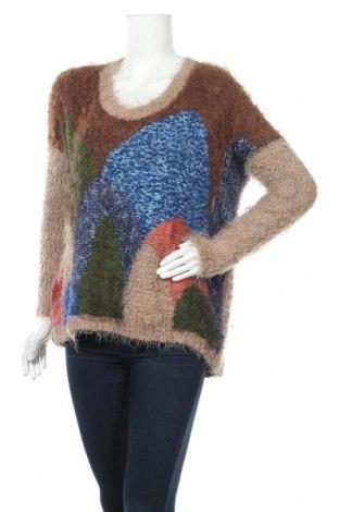 Дамски пуловер Dex, Размер M, Цвят Многоцветен, 48% полиестер, 34% полиамид, 18% акрил, Цена 21,42лв.