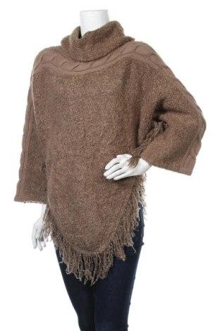 Дамски пуловер Di Moda, Размер M, Цвят Кафяв, 85% акрил, 15% вълна, Цена 8,19лв.