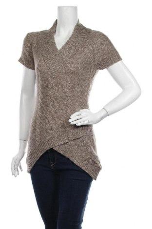 Дамски пуловер Eclipse, Размер S, Цвят Бежов, Акрил, Цена 6,52лв.