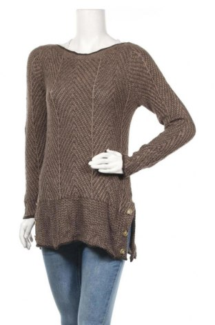 Γυναικείο πουλόβερ Eight Eight Eight, Μέγεθος S, Χρώμα Καφέ, Βαμβάκι, Τιμή 16,66€