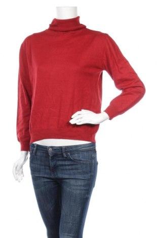 Дамски пуловер Fabiani, Размер M, Цвят Червен, 50% вълна, 50% полиакрил, Цена 17,01лв.