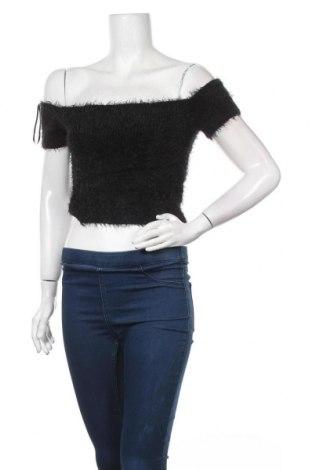 Дамски пуловер Factorie, Размер M, Цвят Черен, 64% полиамид, 36% акрил, Цена 5,55лв.