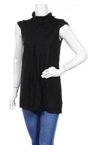 Дамски пуловер Fields, Размер XS, Цвят Черен, 50% мерино, 50% акрил, Цена 8,82лв.