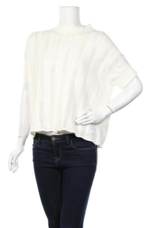 Γυναικείο πουλόβερ Forcast, Μέγεθος M, Χρώμα Λευκό, Ακρυλικό, βαμβάκι, Τιμή 5,07€