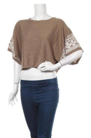 Γυναικείο πουλόβερ Forcast, Μέγεθος L, Χρώμα Καφέ, Ακρυλικό, Τιμή 5,26€