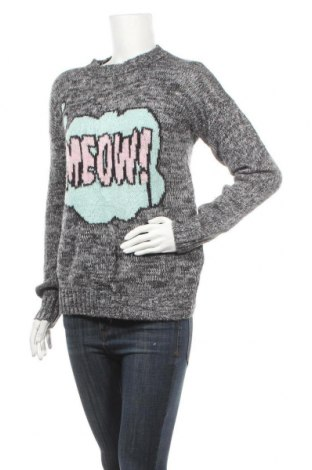 Дамски пуловер Forever 21, Размер S, Цвят Сив, Цена 13,65лв.