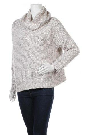Дамски пуловер Forever New, Размер L, Цвят Бежов, 81% акрил, 13% вълна от алпака, 5% полиестер, 1% полиамид, Цена 22,52лв.