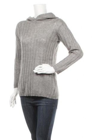 Дамски пуловер Friday, Размер M, Цвят Сив, 50% мохер, 50% акрил, Цена 36,75лв.